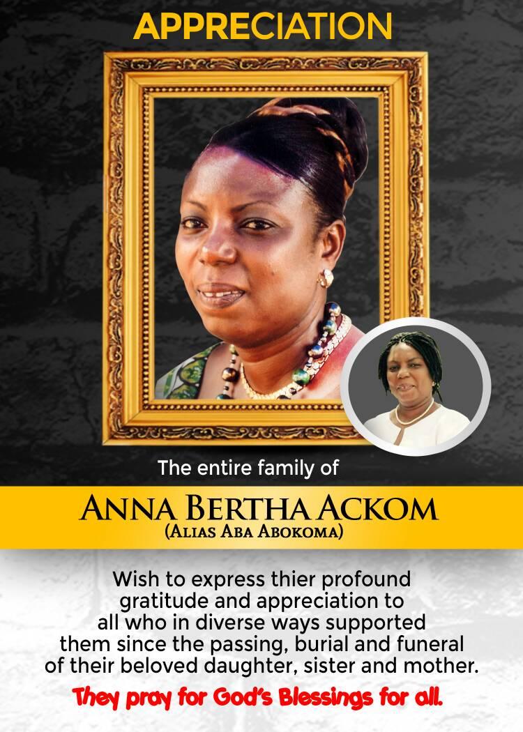 Anna Bertha Ackom