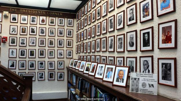 The Explorers Club consists of 3,500 members spread across 32 global chapters, including the New York headquarters (Credit: Credit: Mike MacEacheran)