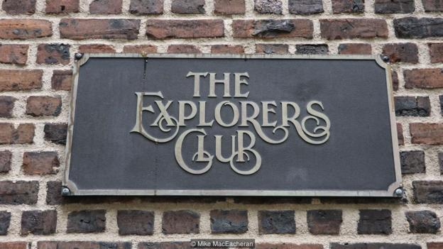 A townhouse in New York houses the headquarters of The Explorers Club (Credit: Credit: Mike MacEacheran)