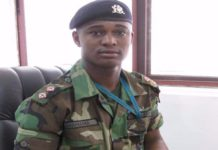 late Major Maxwell Adam Mahama