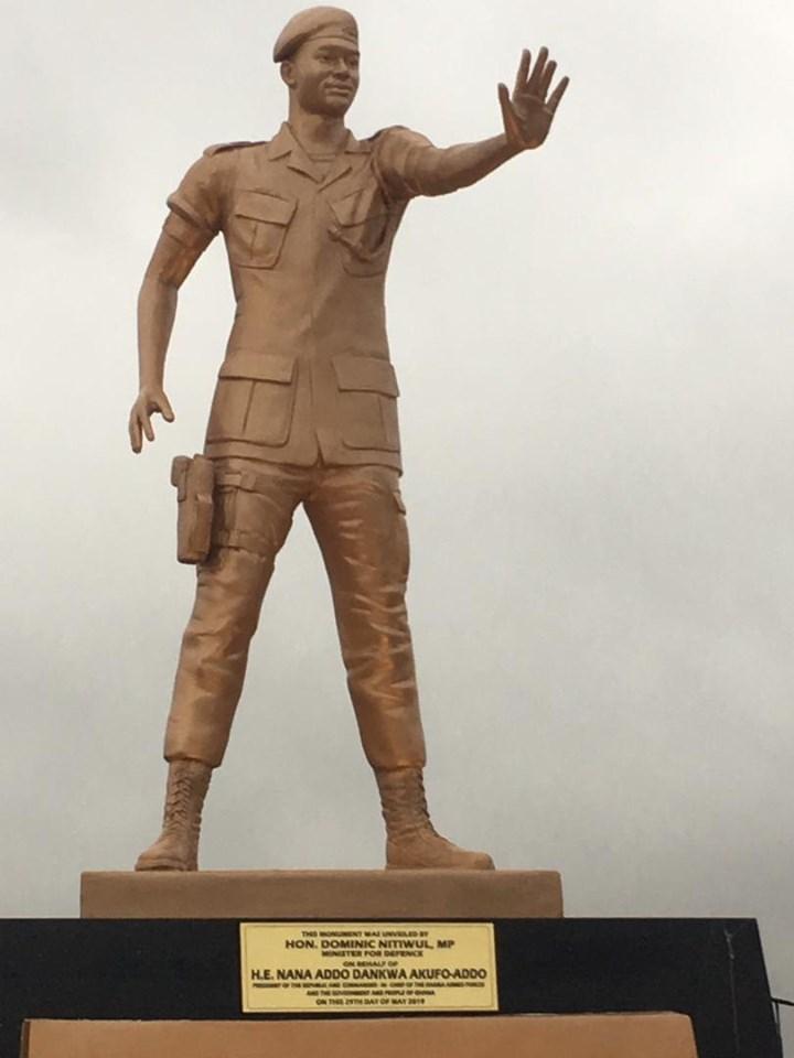 Major Mahama statue