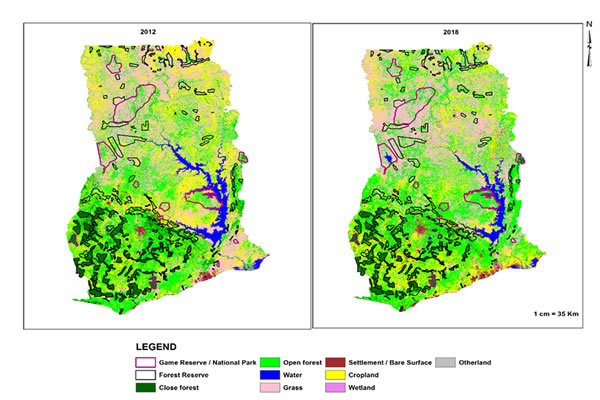 Ghana forest land