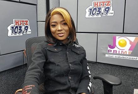 Singer Efya at Hitz FM Studio