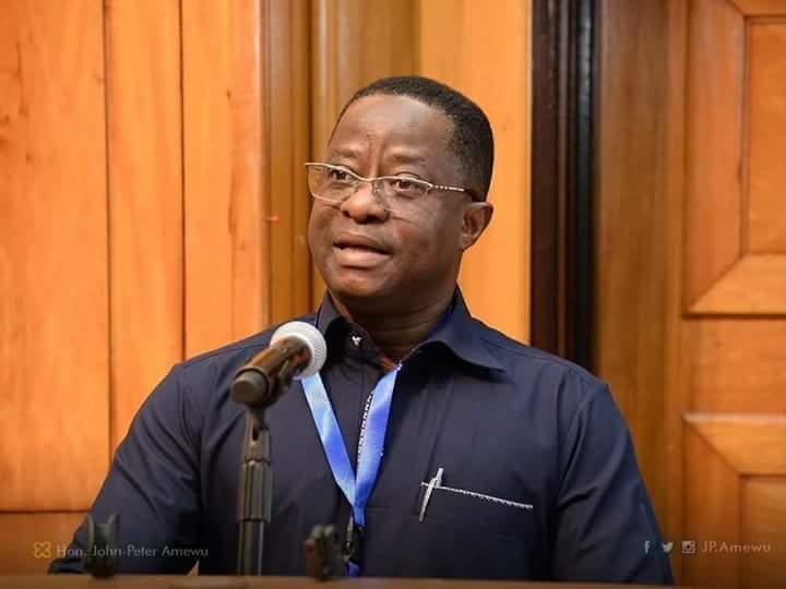 Energy Minister, John Peter Amewu
