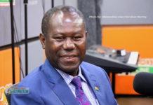 Joseph Boahen Aidoo, CEO, COCOBOD