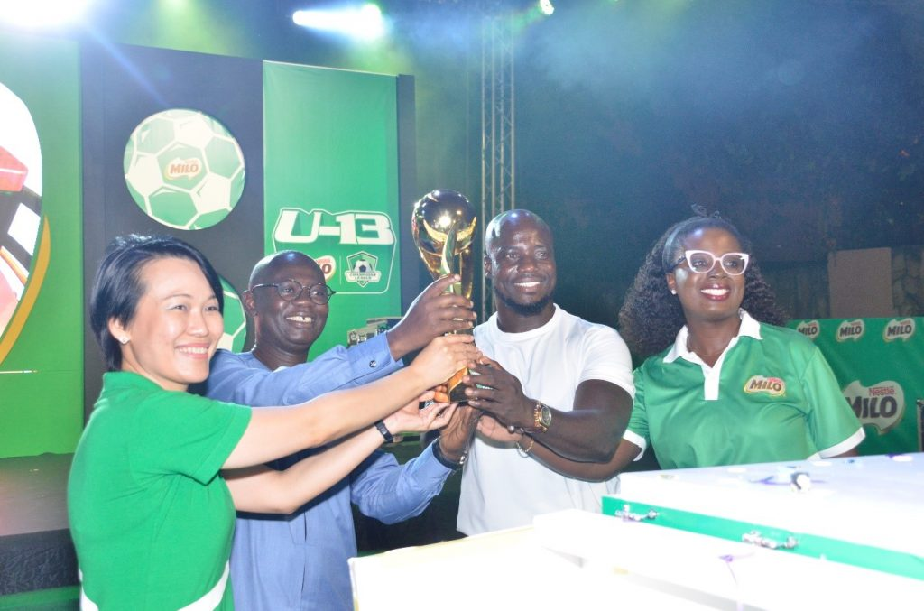 Nestle Milo launches 2019 U-13 champions league - Adomonline com