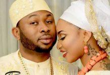 Tonto Dikeh and her ex-husband Olakunle Churchill