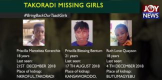 takoradi kidnap girls