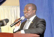 Western North Region Minister, Kingsley Aboagye Gyedu