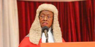 Chief Justice, Justice Sophia Akuffo