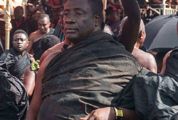 Akyamfuo Kwame Akowua was destooled last week by the Asantehene