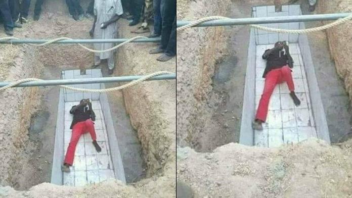 grave man