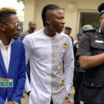 Shatta Wale and Stonebwoy at joint press conference organised in Accra