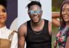 L-R: Sister Derby, Medikal & Fella Makafui