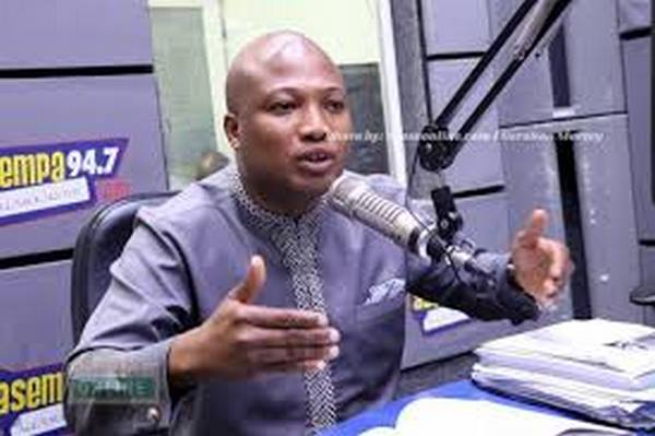 MP for North Tongu Constituency, Samuel Okudzeto Ablakwa