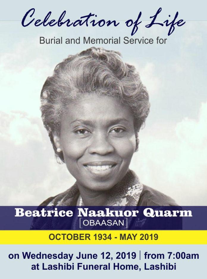 Beatrice Naakuor Quarm