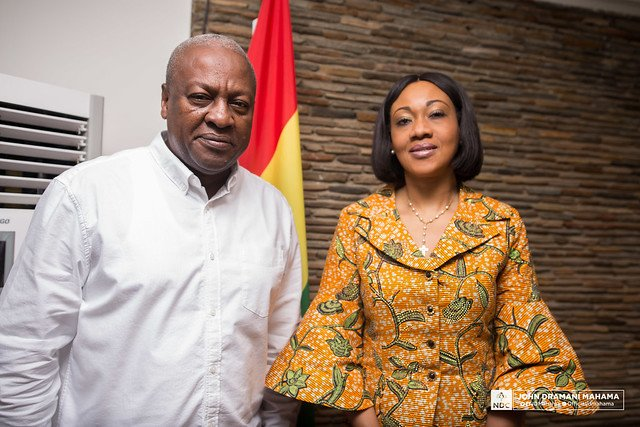 Mahama and EC