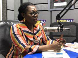 Member of Parliament for Ablekuma North constituency, Ursula Owusu-Ekuful