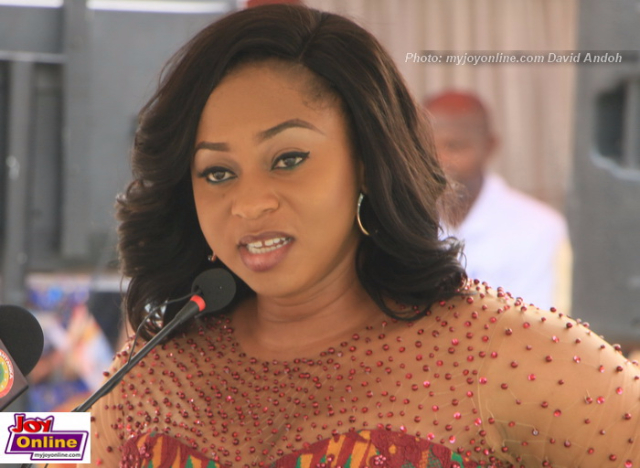 Deputy Majority Leader and Chairperson of the Women Caucus of the Parliament of Ghana, Sarah Adwoa Safo