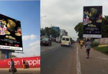 Ghana Football Awards billboards