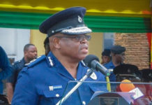 The Inspector-General of Police, Mr James Oppong-Boanuh