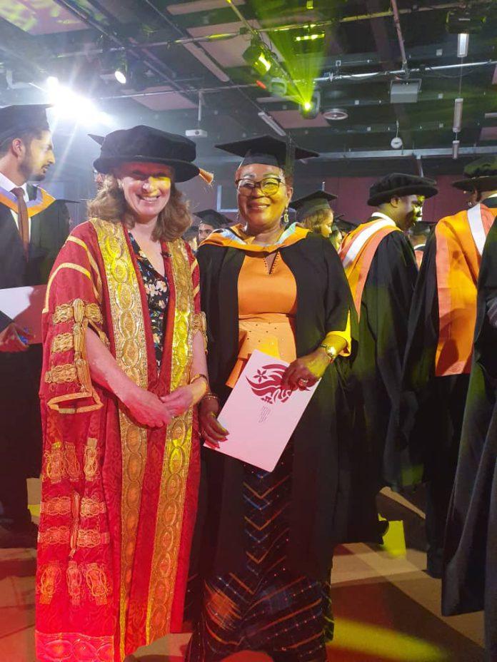 lordina mahama degree