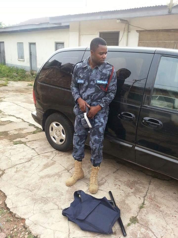 NDC police officer