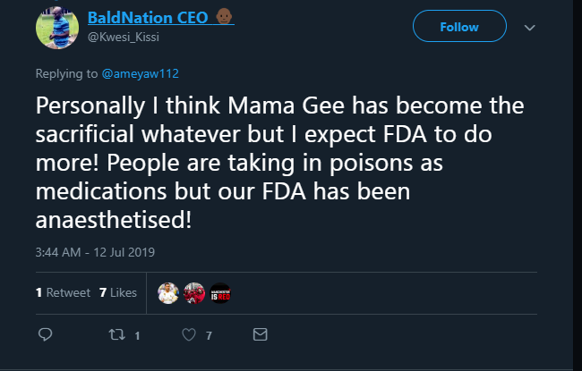 mama gee social media