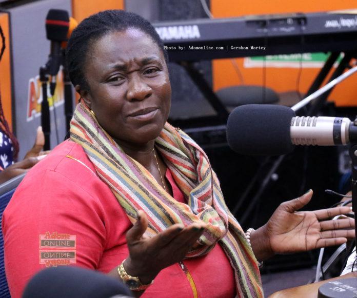 Member of Parliament for Domeabra-Obom Constituency, Sophia Karen Edem Ackuaku