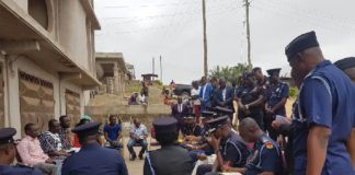 The IGP visited the families of the missing girls on Tuesday