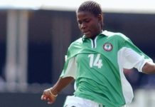 Nigeria's Ifeanyi Chiejine played at three World Cups, two Olympics and won four Africa Cup of Nations titles