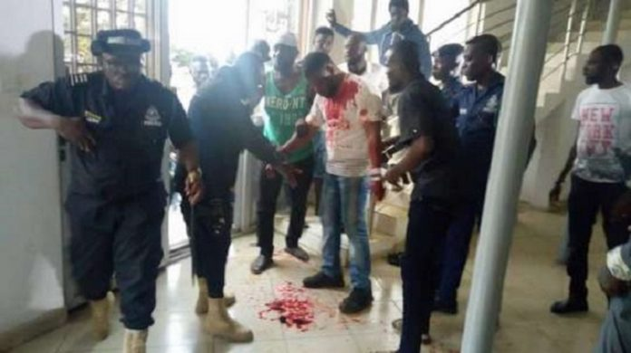 Edga Adjetey Badu sustained injury during during the counting of ballots