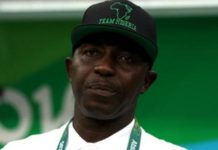 Samson Siasia coached Nigeria as they won bronze at the 2016 Olympics in Rio.