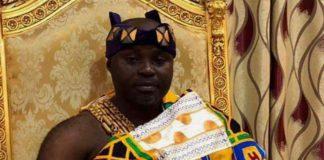 The late Asamponhene, Nana Kwadwo Afuduo