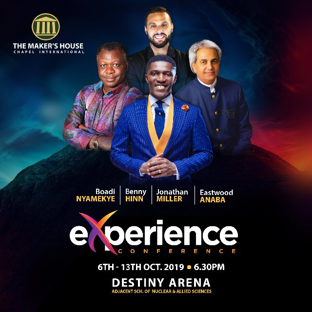 Other speakers include Pastor Jonathan Miller, USA; Rev. Eastwood Anaba and the host, Dr. Michael Boadi Nyamekye.