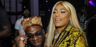 Burna Boy and his girlfriend Stefflon Don