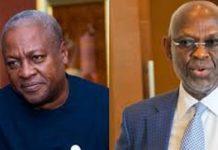 Kwesi Botchwey and former President John Dramani Mahama