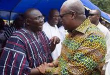 Mahama and Bawumia