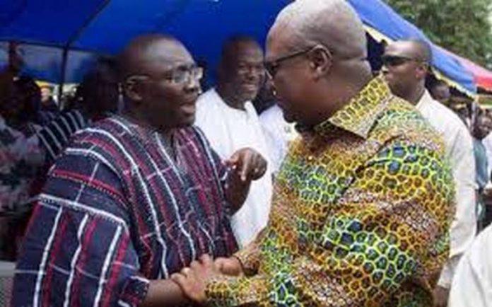 Mahama and Bawumia