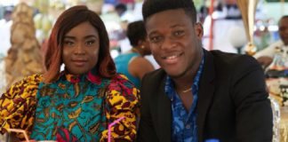 Maame Serwaa and her Manager