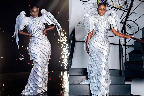 Actress and fashionista, Nana Akua Addo,