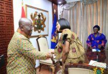 Akufo Addo and Jean Mensah EC