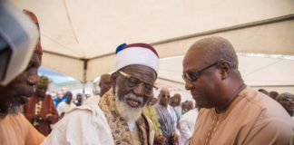 Mahama and Chief Imam