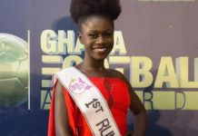 Sarah Odei Amoani, 1st runner-up for 2019 Miss Ghana