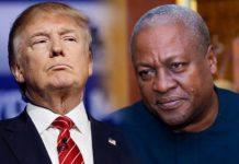 Mahama and Trump