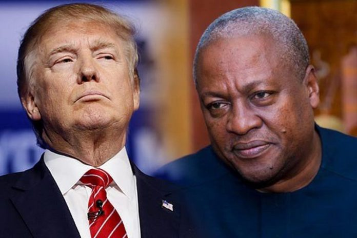 Mahama and Trump