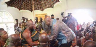 Otumfuo and Akufo Addo
