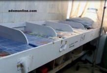 Improvised incubator at the Asamang SDA Hospital