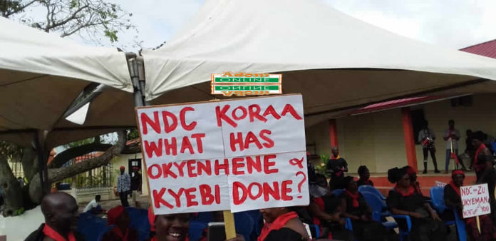 NDC Okyehene demo