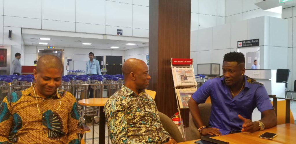 Asamoah Gyan India deal